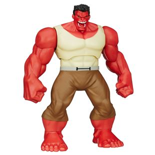 Shake 'N Smash Red Hulk Figure - Marvel Hulk and the Agents of S.M.A.S.H.