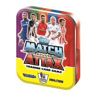 Match Attax 2014/2015 Collector Tin