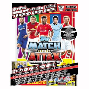 Match Attax 14/15 Trading Card Starter Kit