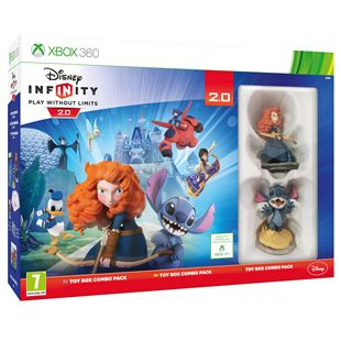 Disney Infinity 2.0 Toy Box Combo X360