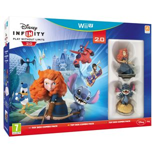 Disney Infinity 2.0 Toy Box Combo Wii U