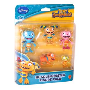 Henry Hugglemonster Family Figurine Set
