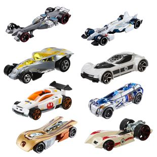 Hot Wheels Star Wars Die-cast Car Assortment