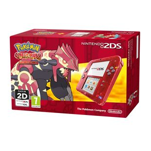 Nintendo 2DS Pokémon Omega Ruby Bundle