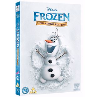 Disney Frozen Sing Along DVD