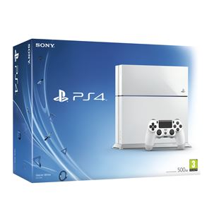 Playstation 4 500GB Glacier White Console