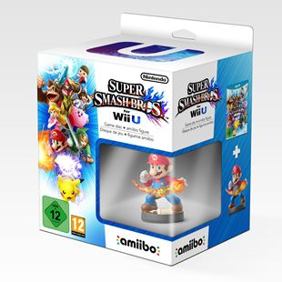 Super Smash Bros Wii U with Mario amiibo