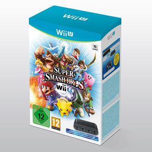 Wii U Super Smash Bros. with Gamecube Controller Adapter