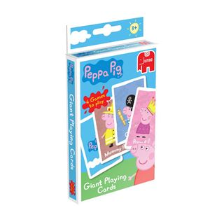 Peppa Pig Giant Playing Cards Game