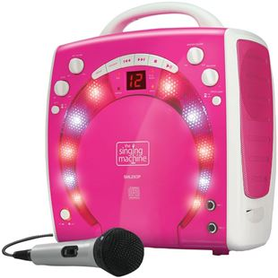 Singing Machine Pink