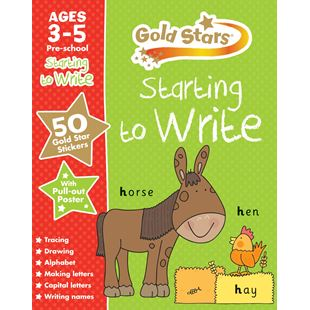 Goldstars Preschool Workbook Assortment