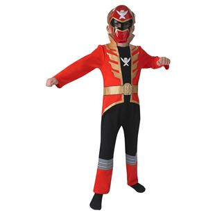 Power Ranger Super Mega Force Red  Medium Costume