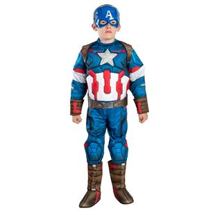Avengers Age of Ultron Deluxe Captain America Medium Costume