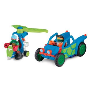 Teenage Mutant Ninja Turtles Half-Shell Heroes Dune Duster and Off-Road Mikey