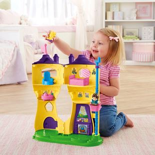 Fisher Price Little People Disney Princess Rapunzel's Tower
