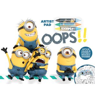 Despicable Me Artist Pad