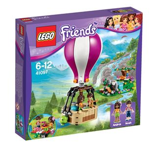LEGO Friends Heart Lake Hot Air Balloon 41097