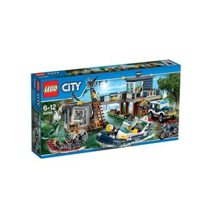 Lego City Swamp Police Station 60069