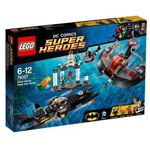 Lego DC Comics Super Heroes Black Manta Deep Sea Strike 76027