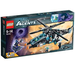 LEGO Agents UltraCopter vs. AntiMatter 70170