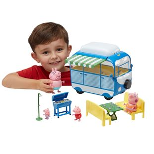 Peppa Pig Holiday Deluxe Campervan Play Set