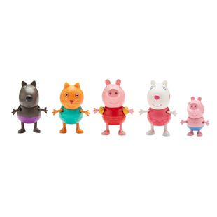 Peppa Pig Holiday 5 Pack Figure