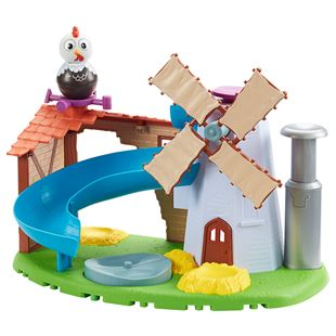 Weebledown Farm Wobbily Farm Mill and Barn Play Set