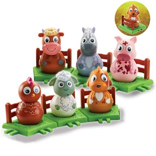 Weebledown Farm Weebles Figure and Base – Assortment
