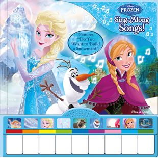 Disney Frozen Piano Book with Sing-Along Songs