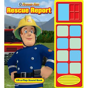 Fireman Sam Rescue Report Sound Book