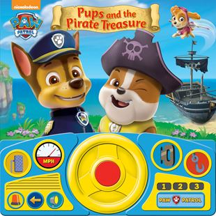 Paw Patrol Steering Wheel Sound Book