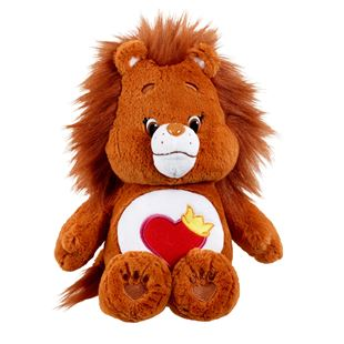 Care Bear Medium Plush with DVD Brave Heart Lion