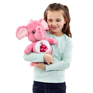 Care Bear Medium Plush with DVD Lotsa Heart Elephant