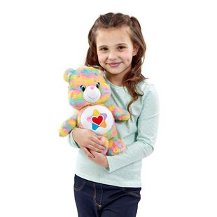 Care Bear Medium Plush with DVD True Heart