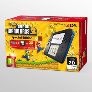 Nintendo 2DS New Super Mario Bros 2 Console