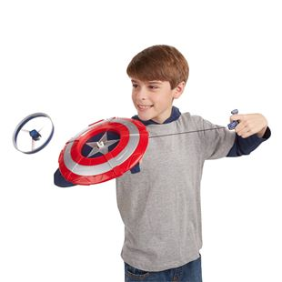 Avengers Age of Ultron Captain America Star Launch Shield