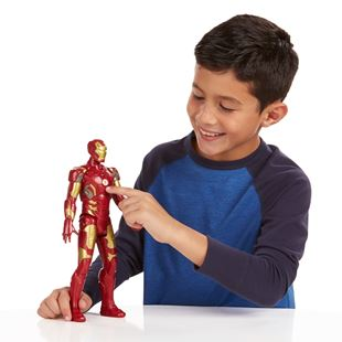 Avengers Age Of Ultron Electronic Iron Man Titan Hero Figure