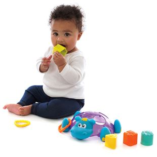 Playgro Bath Sort n Stack Floating Hippo