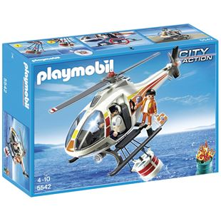 Playmobil Fire Fighting Helicopter 5542