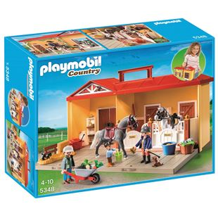 Playmobil Take Along Horse Stable 5348