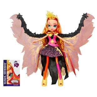 My little Pony Equestrian Girl Winged Fashion Doll - Sunset Shimmer
