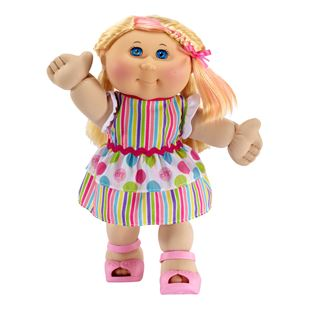 Cabbage Patch Kids -Straight Haired Blonde Girl