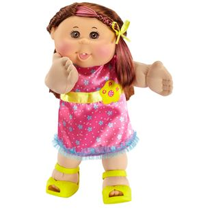 Cabbage Patch Kids –Straight Haired Brunette Girl