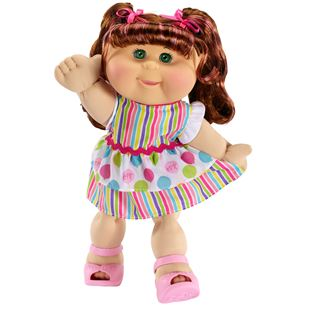 Cabbage Patch Kids - Curly Haired Brunette Girl