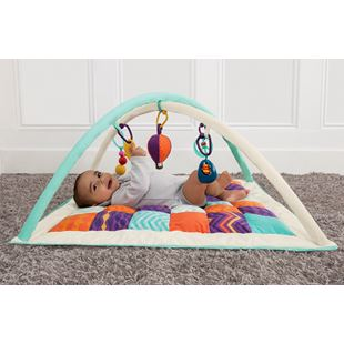 B. Wonders Above Quilted Baby Play Mat