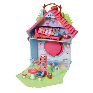 Mini CHOU CHOU Birdies Cuckoo Clock House