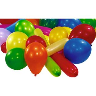Assorted Balloons 25 Pack