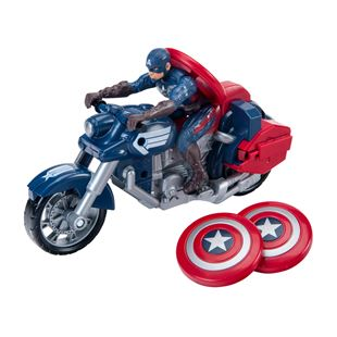 Avengers Captain America Motorcycle and Figure