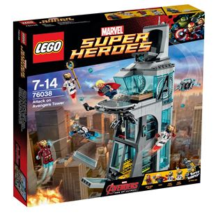 LEGO Marvel Super Heroes Attack on Avengers Tower 76038