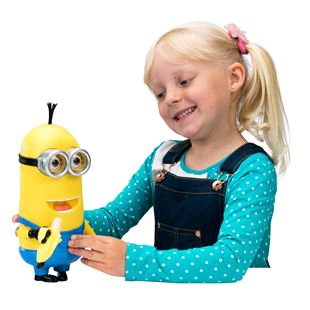 Minions 27cm Minion Kevin Talking Action Figure with Accessory